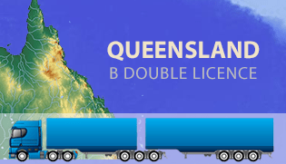 Get an MC (B Double) Licence (Qld)
